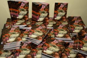 Foram impressos seis mil exemplares para a 4ª edição do livro